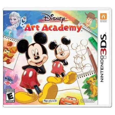 Disney Art Academy (Nintendo 3DS) : Target