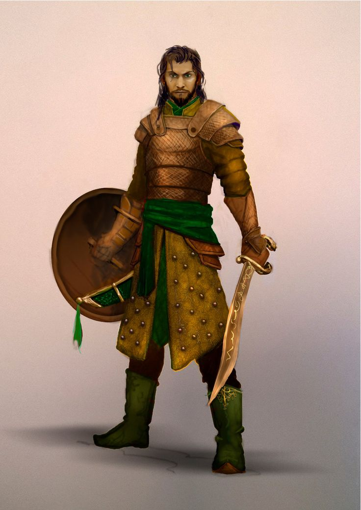 Fantasy Warrior by Schnedler