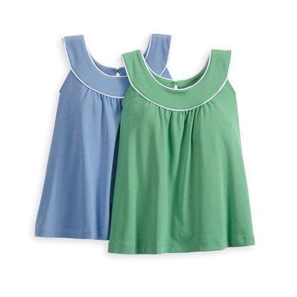 Clothing - Women's Pima Scoop Neck Blouse