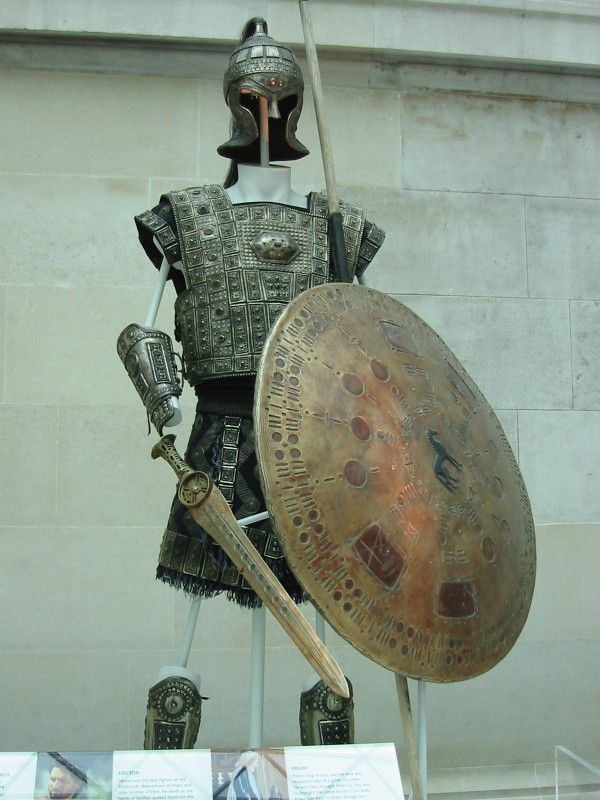 Troy at the British Museum, London