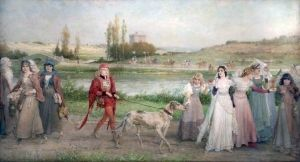 The Road to Camelot - George Henry Boughton - The Athenaeum