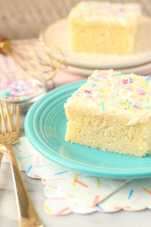 Easy Homemade Vanilla Cake Recipe Fluffy Moist Cake Recipe In 2020 Moist Vanilla Cake Easy Vanilla Cake Homemade Vanilla Cake