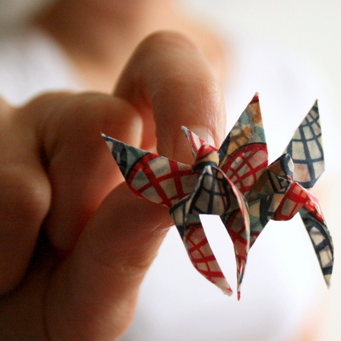 Beautiful Butterflies - Fabric Origami Brooch