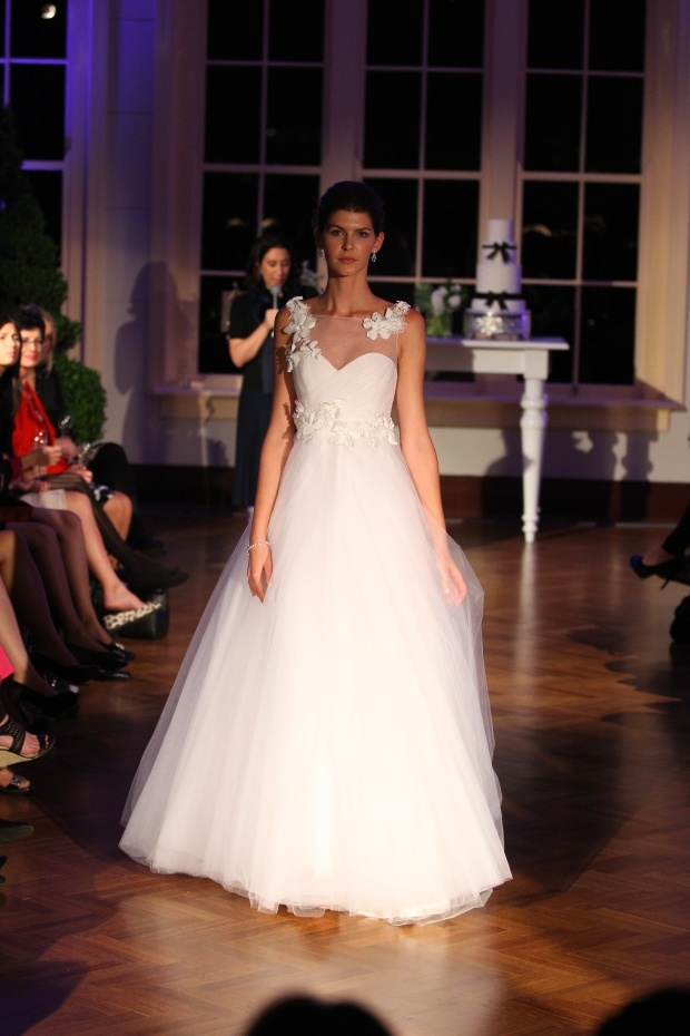 Alex Perry – Bridal at David Jones  Not so many flowers for me