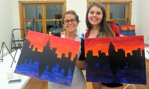 Groupon - Two-Hour BYOB Painting Class for One, Two, or Four Including Supplies at The Paint Place (Up to 47% Off) in Upper West Side. Groupon deal price: $35