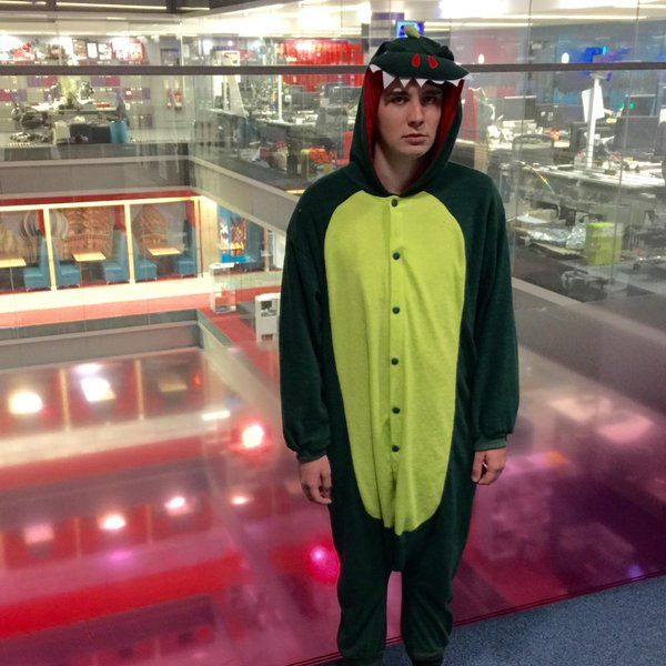 i thought it'd be fun to let ppl with the Dan and Phil SIM 'dress up dan' today! i'm at the bbc. they voted for this. (December 11th, 2014)