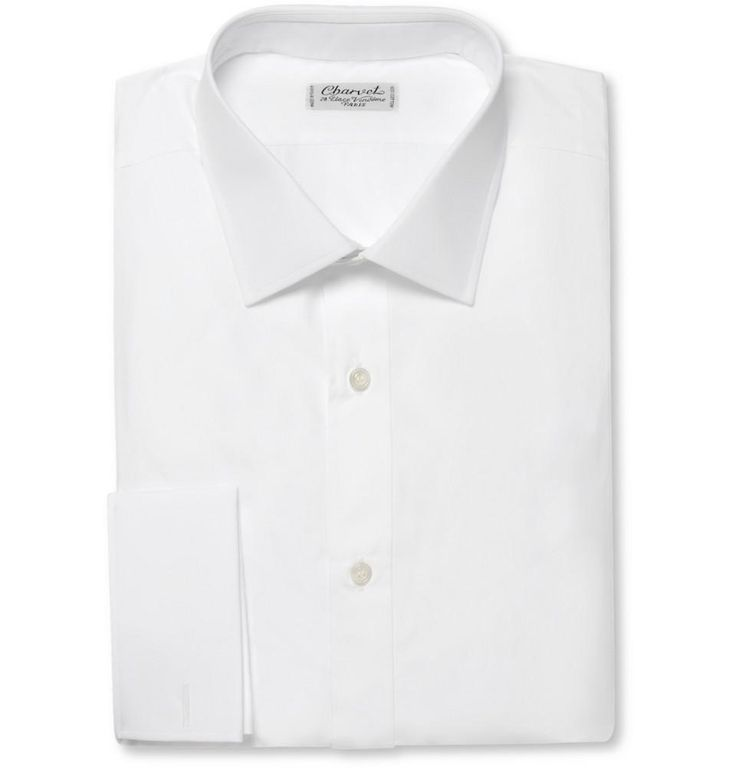 White Shirts:  French Charvet is considered one of the first true shirtmakers.