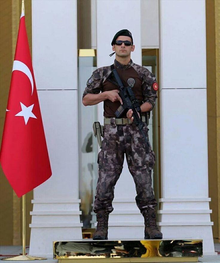 PÖH Cumhurbaşkanlığı Külliyesi koruma polisi