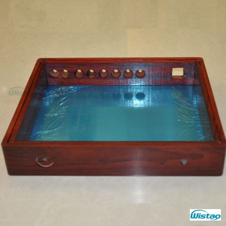 <b>DIY</b> Tube Amplifier Casng 400x340x70 With Red rosewood wooden ...