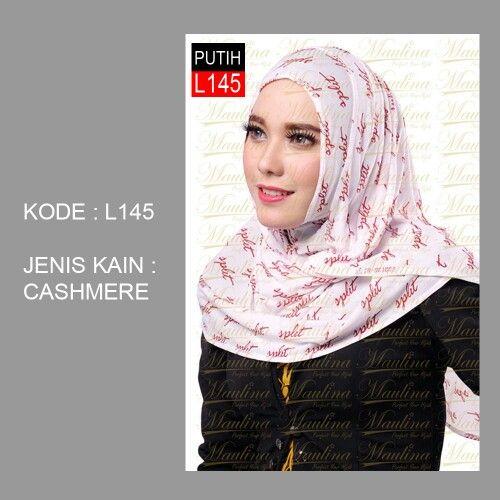 "Kode: L145  Harga Ecer: Rp. 40.000,-  Jenis Kain: Cashmere  Varian: Putih    Cara Order via SMS/WA/BBM  Ketik ""Order, Nama - Alamat Lengkap - Kode & Warna Produk - Jumlah Order""  Kirim ke - SMS/Whatsapp: 0812 3026 3547 | BBM: 538CB52A | www.hijabinstan.com    Reseller / Dropship Welcome - Informasi lebih lengkap Hubungi CS HIJABInstan.com atau tinggalkan kontak di komentar.    #hijab #hijabinstan #hijabinstant #maulinahijab # reseller # dropship #olshop #agen #distributor #hijabfashion…"