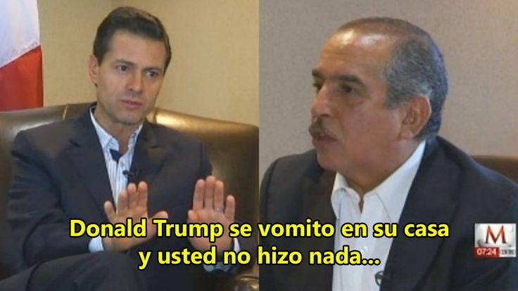 Carlos Marín humilla y ridiculiza a Peña Nieto durante entrevista al air...