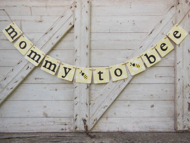 Mommy to Bee Banner, Bee Baby Shower, Bumble Bee Shower Decor, Mommy to Be Garland, Parents to Bee Be, Baby Bunting Sign, Babee Bumble Bee by IchabodsImagination on Etsy (null)
