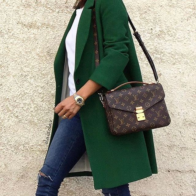 Love this green coat
