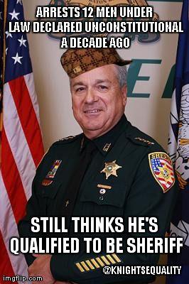 Scumbag East Baton Rouge Sheriff #gay #lgbt #p2