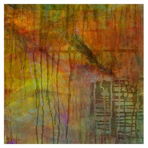 """Integration"" acrylic & watercolour by Jolie B Studio"