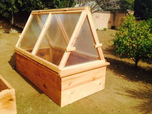 Green House -Portable and over raised bed
