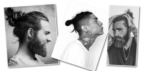 Frisuren für Männer mit langen Haaren - Titel