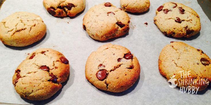 The Shrinking Hubby's Gluten Free Choc Chip Cookies