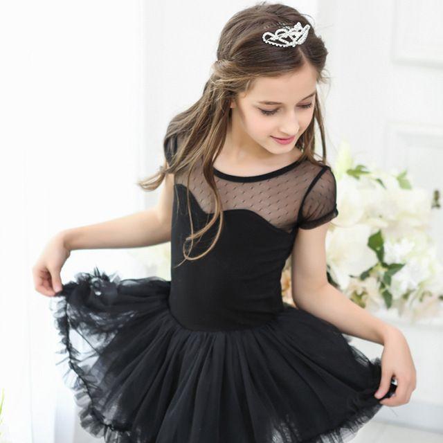 Ballett Tutu Für Mädchen Neue Sommer Kurzarm Kinder Tanzen
