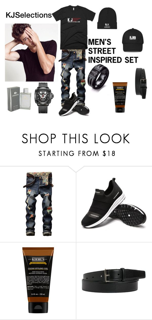 Street Inspired KJSelections by kjselections on Polyvore featuring Yves Saint Laurent, Kiehl's, men's fashion and menswear