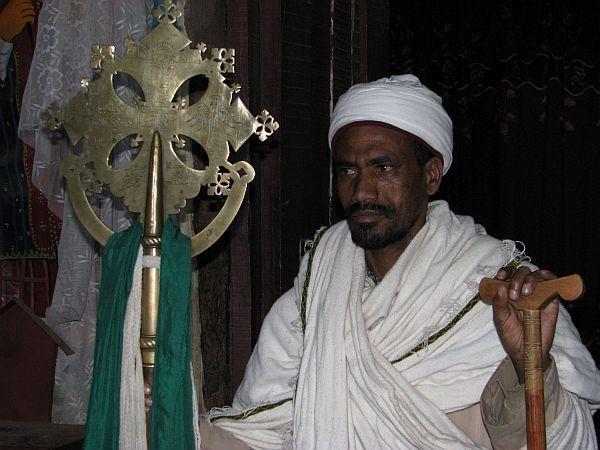 Etiopia, mnich