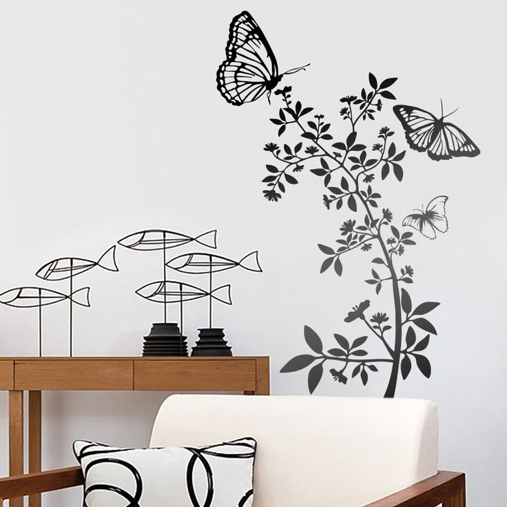 Atzureus vinilos decorativos decoracion teleadhesivo for Vinilos mariposas