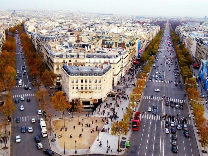 Champs Elysses, Paris France