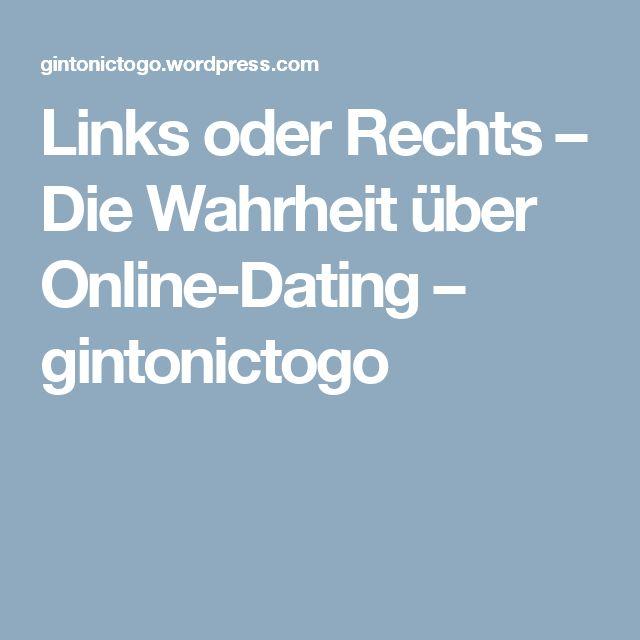 Links oder Rechts – Die Wahrheit über Online-Dating – gintonictogo