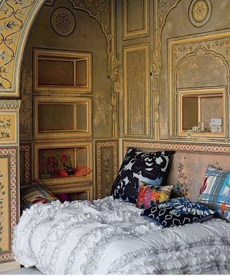 Bedrooms inspired by India from Anthropologie