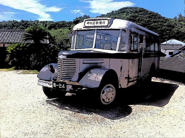 Old Bus 二十四の瞳映画村