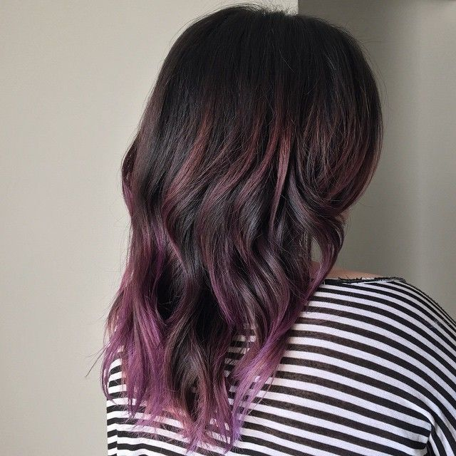 My client has had an #ombre and then #highlights , we've been playing with…