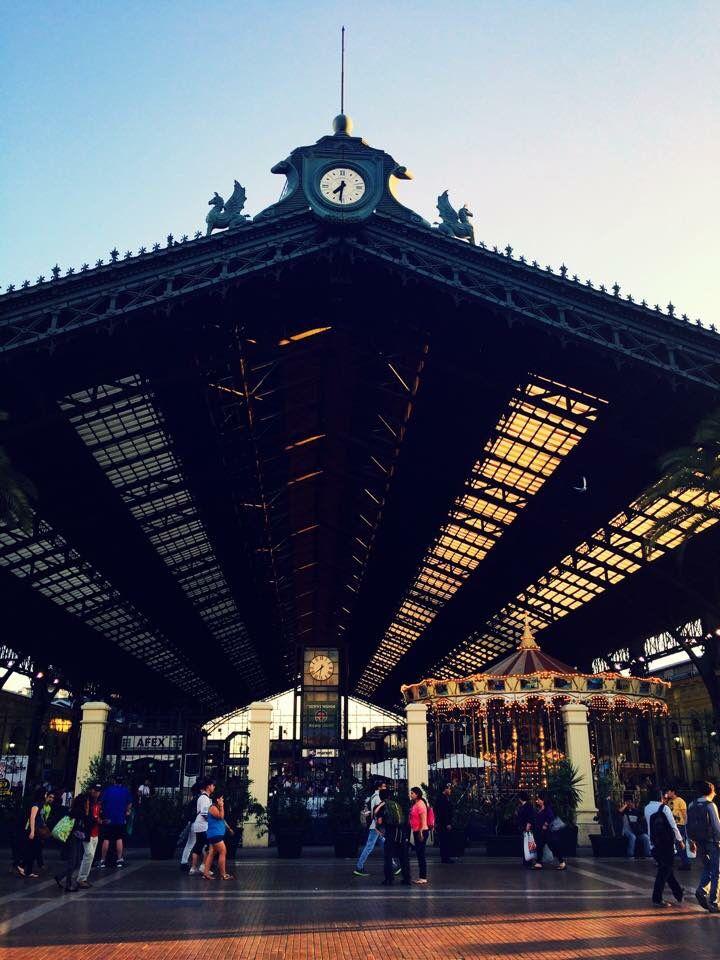 Estación central, Santiago de Chile 2014