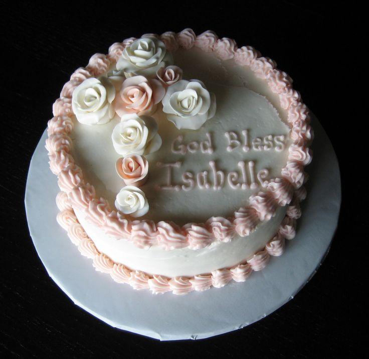 baptism cakes | Custom Cakes by Julie: Baptism Cake III