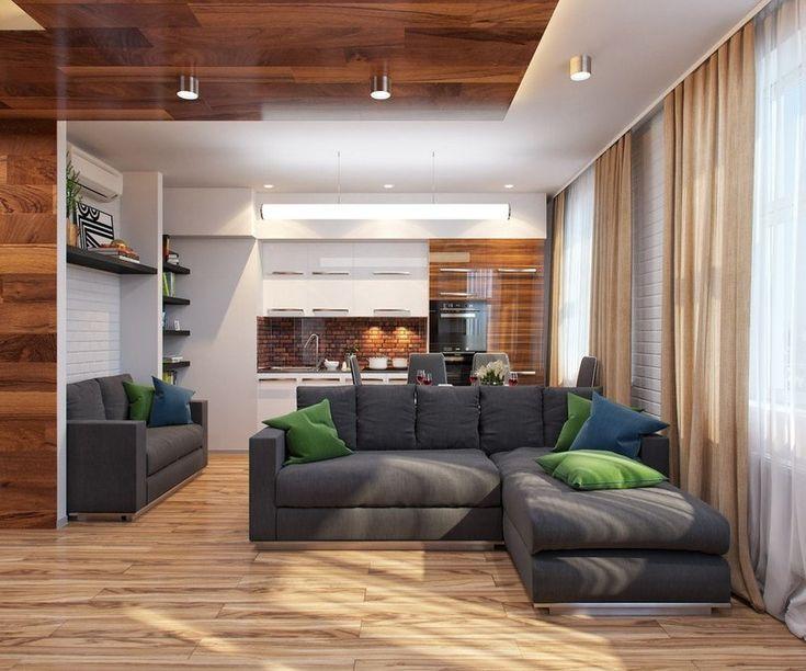 Проект небольшой квартиры 29,5 кв м - Дизайн интерьеров | Идеи вашего дома | Lodgers