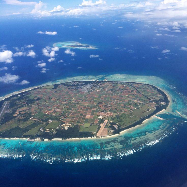 Taketomi island,Okinawa 石垣空港に着く直前‼︎奇跡の一枚*