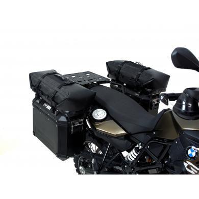 Dryspec D56 Waterproof Motorcycle Drybag Modular Ng System In Black Grey Orange 56l Total Moto Bags