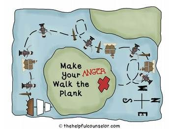 Anger Management Pirate Game: Free Behavior Charts Included