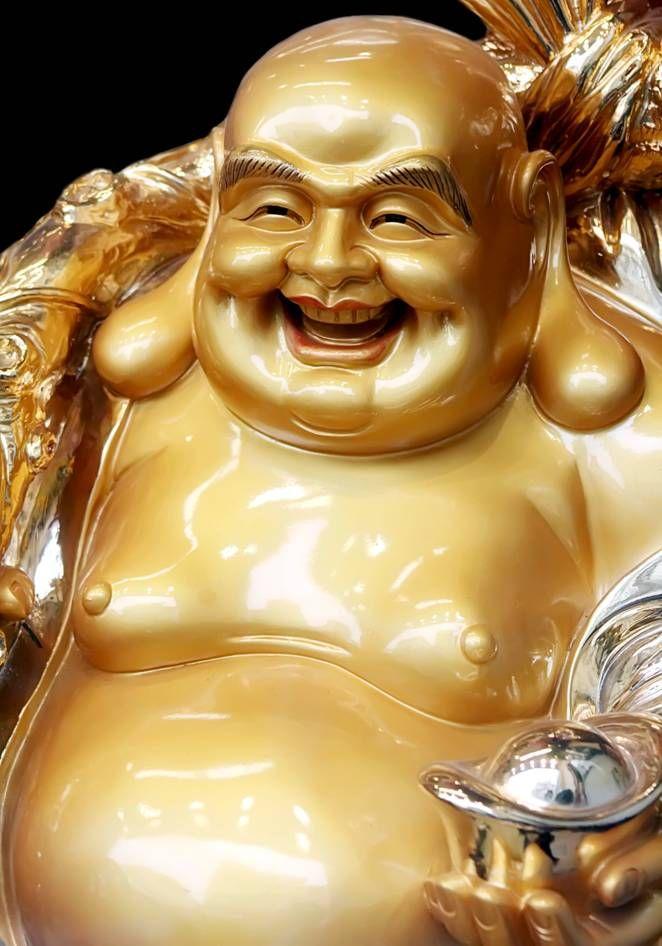 """El famoso """"Buda gordo y calvo"""" no es realmente el Buda, no es Siddharta Gautama, es en verdad un hombre llamado Hotei."""
