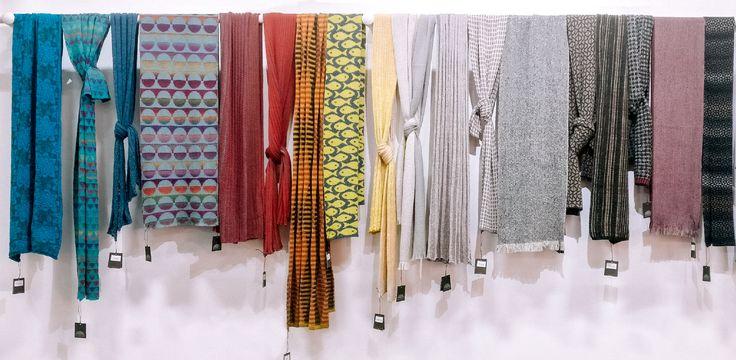 Our 2017 scarf collection | McKernan Woollen Mills | Handmade scarves | Made in Ireland | Irish Design | Weaving | Knitting Mens & Women's Accessories