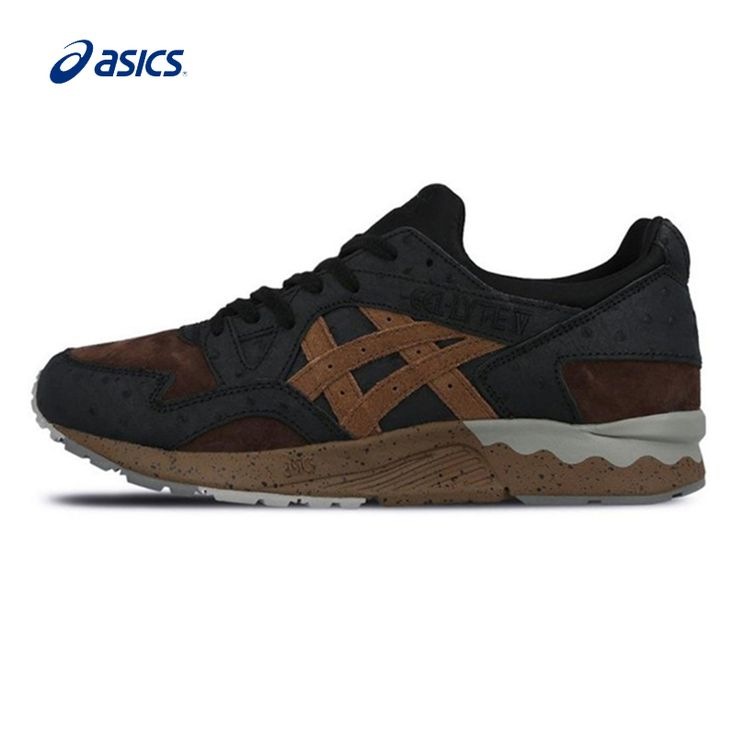 Original ASICS Men Shoes Breathable Cushioning Running Shoes Light Retro Hard-Wearing Sports Shoes Sneakers Free Shipping
