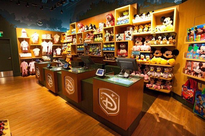 Disney Store, Retail Localization
