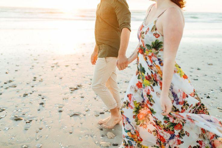 Beach Photography    Picture    Description  Beach Romance Engagement