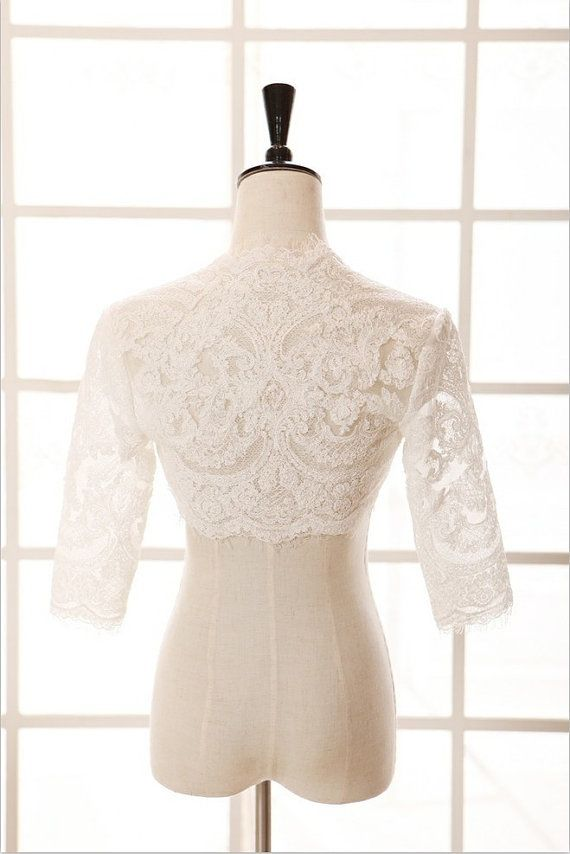 1000 ideas about lace bolero on pinterest bridal for Wedding dress bolero jacket