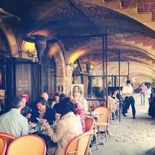 A rendezvous to remember for Halle and Luke!  cafe hugo place des vosges - Google Search
