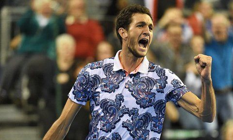 3/6/15 Davis Cup: James Ward stuns John Isner to give Great Britain 2-0 lead... Briton comes back from two sets to love down to win 6-7, 5-7. 6-3, 7-6, 15-13, and put Great Britain in imposing position in the tie v #TeamUSA.