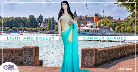 #Indieswagga offers Designer Saree online shopping in India. #COD #OnlinePayment #FreeShipping https://www.indieswagga.com