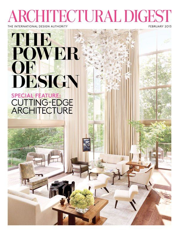 Best Architectural Digest Covers Images On Pinterest