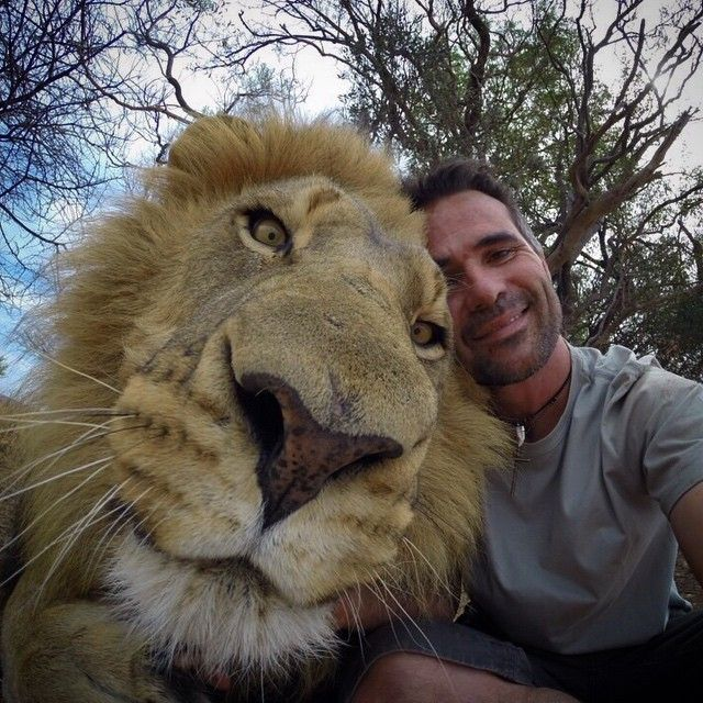 Kevin Richardson and Royal friend - via http://instagram.com/p/t3HVxiR39p/