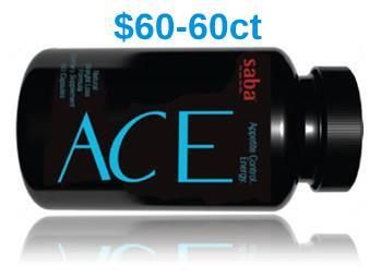FREE SHIPPING AND NO TAX- ACE Diet Pills - Appetite Control and Energy dietary supplement is a synergistic blend of ingredients. SABA's new ACE Diet Pills formula contains the top five most effective weight loss ingredients scientifically formulated into one pill!
