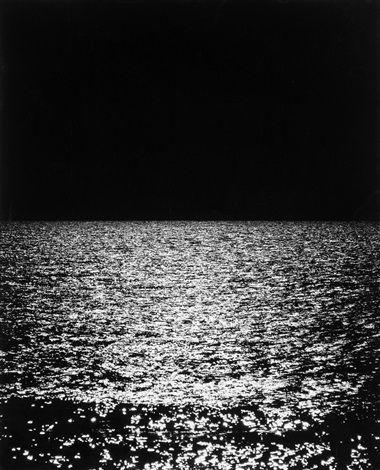 Sonnenuntergang in Hirtshals by Otto Steinert, 1964